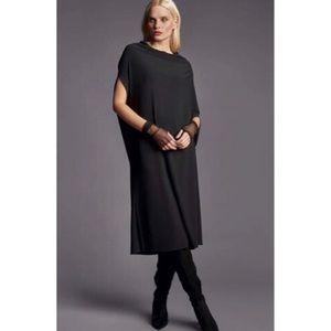 Igor Dobranic Margaret Lagenlook Midi Dress Black